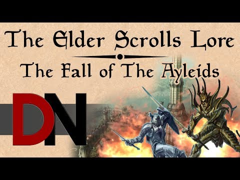 The Fall of the Ayleids - The Elder Scrolls Lore