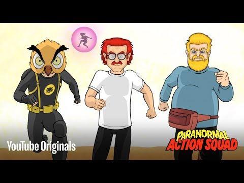 The Party Gets Us Started | The Paranormal Action Squad | Episode 1