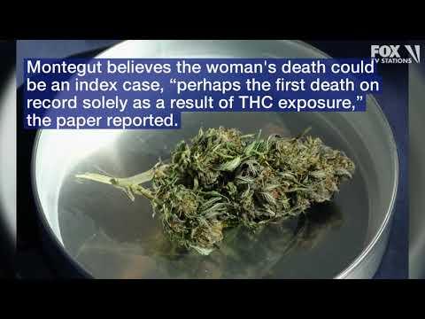 Louisiana coroner says woman died of THC overdose