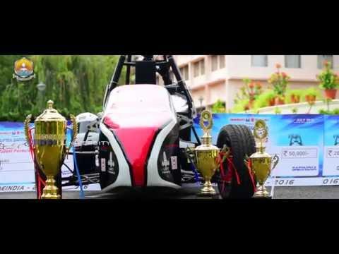 Team Amrita Racing in Formula Student SAE Supra 2016 | Coimbatore campus