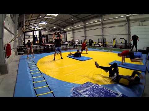 Warszawskie Centrum Atletyki - trening obwodowy