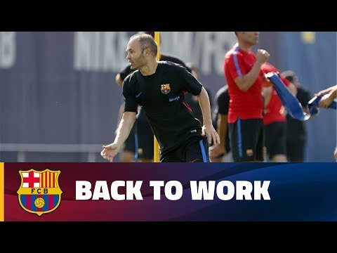 Back to work in Barcelona
