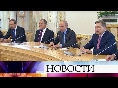 В рамках ПМЭФ президент России встретился с главой Болгарии, премьер-министрами Армении и Словакии.