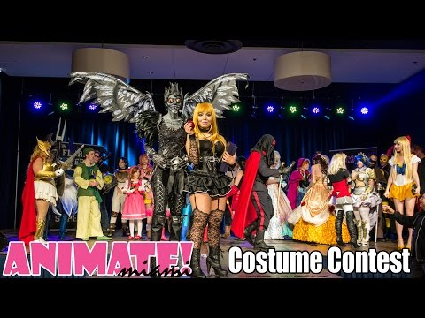 Animate Miami Costume Competition November 2014