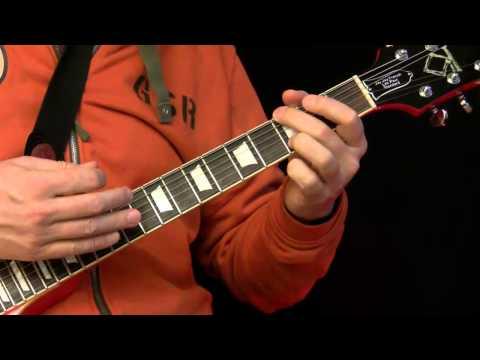 Guitar Lesson  AC DC Style Rhythm Guitar