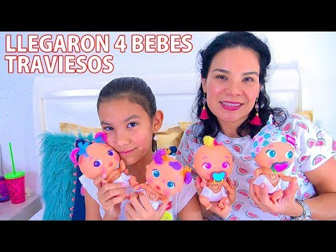 4 BEBES TRAVIESOS ¡LOS BELLIES! | AnaNana Toys