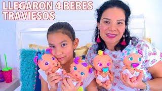 4 BEBES TRAVIESOS ¡LOS BELLIES! | AnaNana Toys
