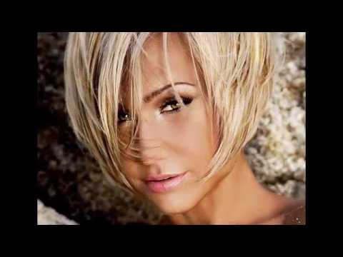 Coiffure Carre Plongeant Effile Youtube