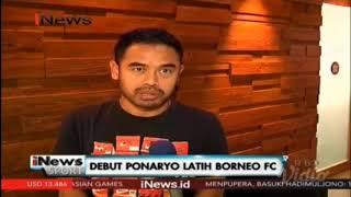 Debut Ponaryo Pelatih Pusamania Borneo FC
