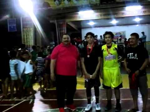 Mythical team interbrgy league Jed Campano