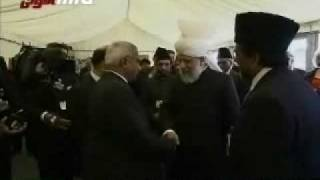 Hazoor atba, attends Reception At Parliament House PART 2\11