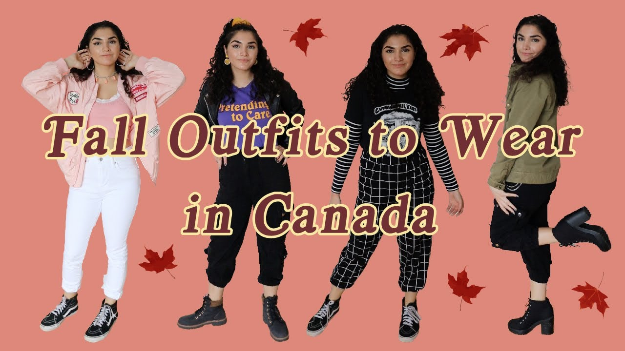 Fall Outfits to Wear in Canada 20   YouTube