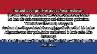 257ers - Holland ►Lyrics◄ HD