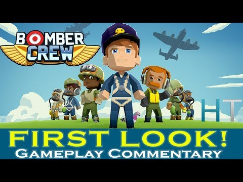 Let's Try: BOMBER CREW - Super Fun Indie WWII Game Like FTL - Bomber Crew Gameplay / Let's Play