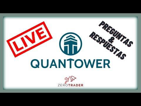 🔵LIVE QUANTOWER🔴 Respondiendo preguntas frecuentes sobre Quantower, plataforma MultiBroker