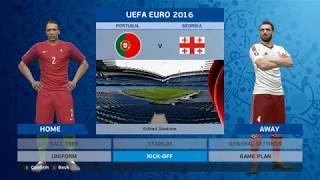 Pro Evolution Soccer 2016 Smoke Patch 8 5 3 Qartulad saqartvelos nakrebi euro 2016ze #1