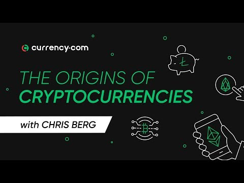Where did cryptocurrencies come from?