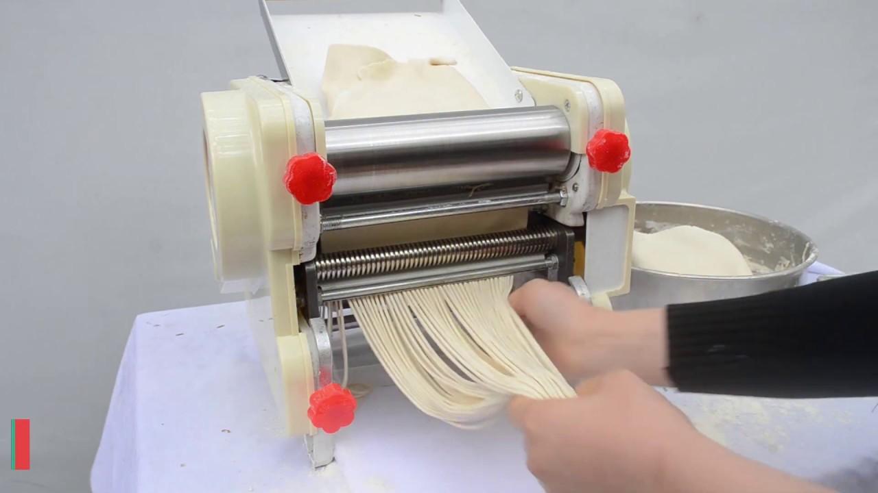 Máy cán bột mini DJJ-200B – Máy cán mì, cắt bột mini gia đình giá rẻ