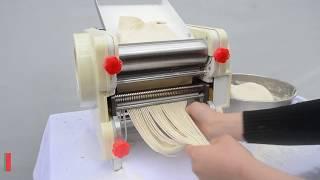 Máy cán bột mini DJJ-200B - Máy cán mì, cắt bột mini gia đình giá rẻ