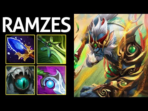Phantom Cancer Build with Aghanim's by 9k CIS Ramzes Dota 2