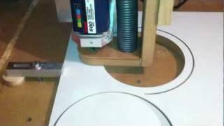 DIY - CNC Fräsen - Absaugvorrichtung - kein Staub mehr