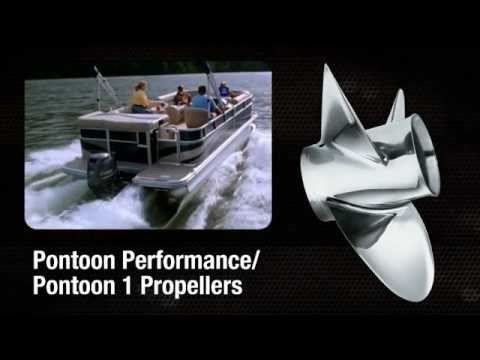Pontoon Performance / Pontoon 1 propellers