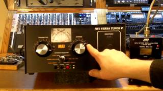 Using A Roller Inductor Style Antenna Tuner