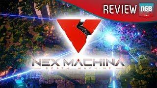 Nex Machina Review/Gameplay (PS4 Pro)