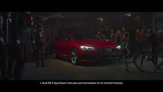Audi Merry Christmas Gift to Santa