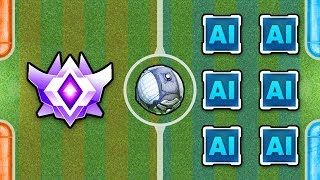 Grand Champion vs 14 Modded Bots