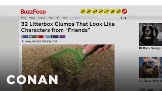 BuzzFeed Is Running Out Of Lists: Litterbox Friends Edition  - CONAN on TBS