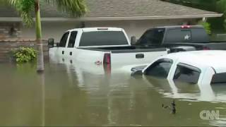 CNN tours Texas neighborhood buried by water
