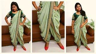 Navratri Garba Outfit - Dhoti Saree   Rashmi Ghag