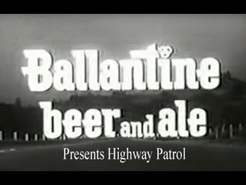 Broderick Crawford - Highway Patrol - Mountain Copter with Ballatine Beer Commercials Complete