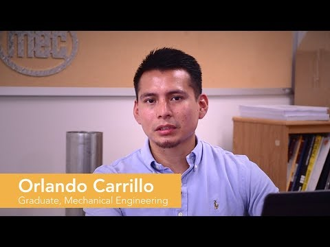 Piedmont Technical College Graduate, Orlando Carrillo
