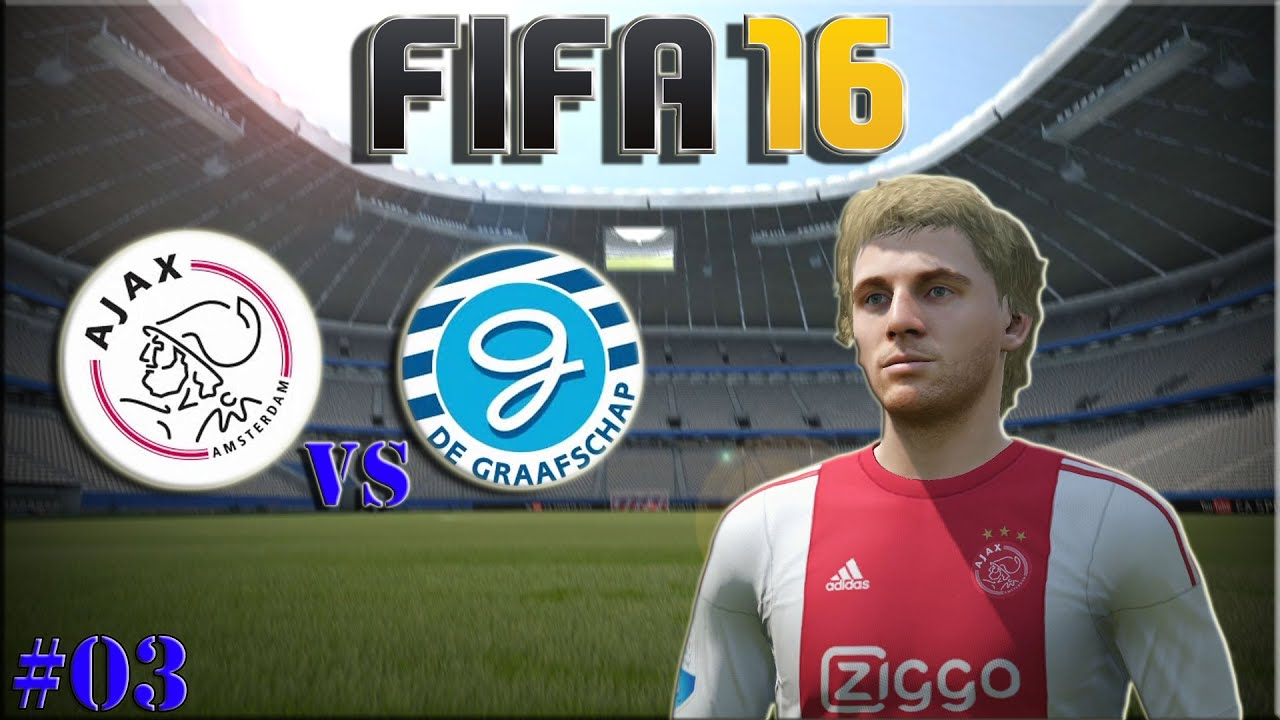 Ajax Amsterdam Vs De Graafschap (Fifa 16 Spielerkarriere