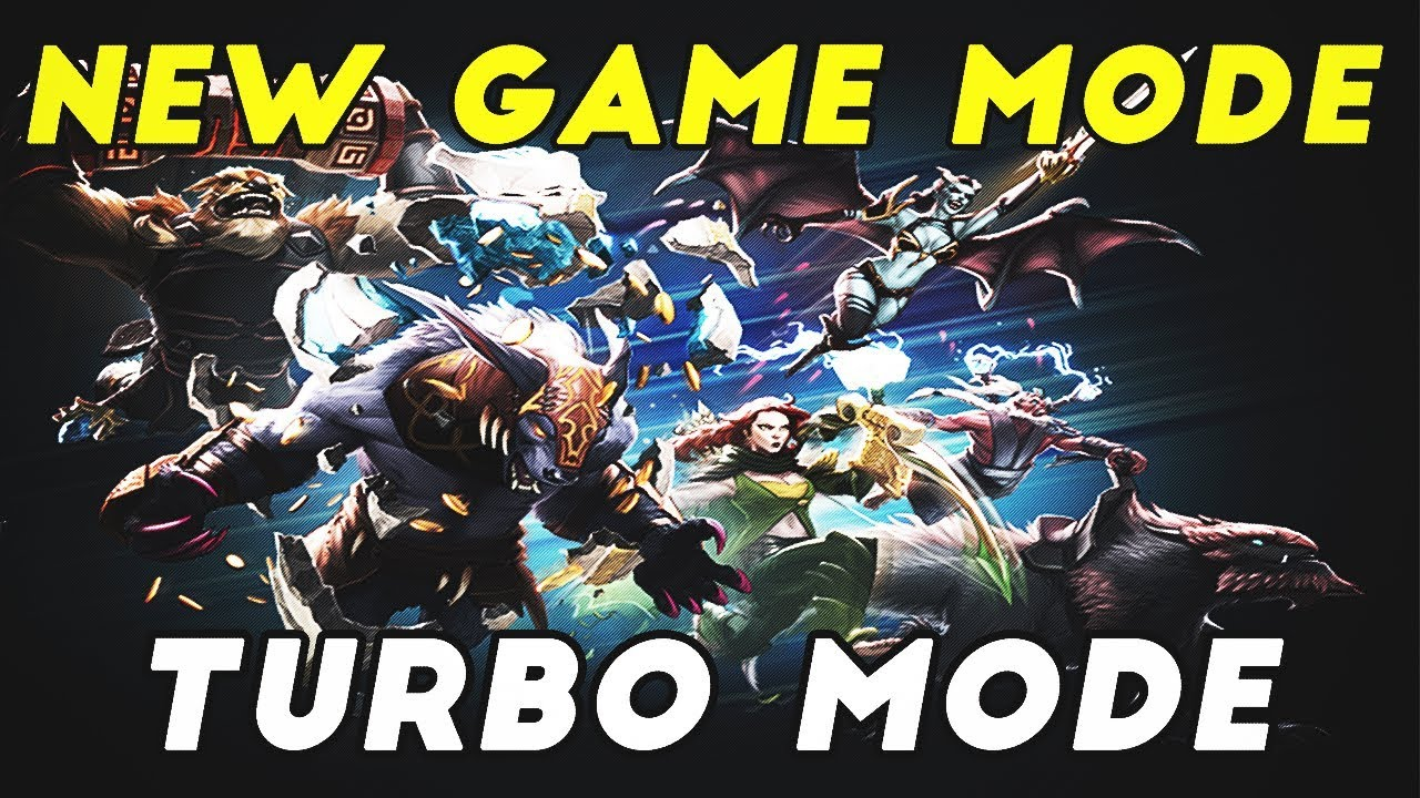 DOTA 2: TURBO MODE! NEW GAME MODE!