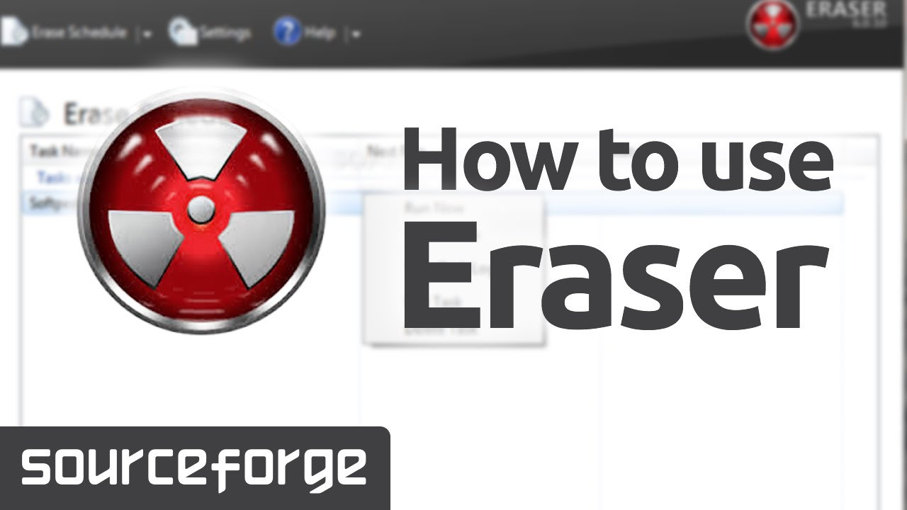 How to Use Eraser for Windows