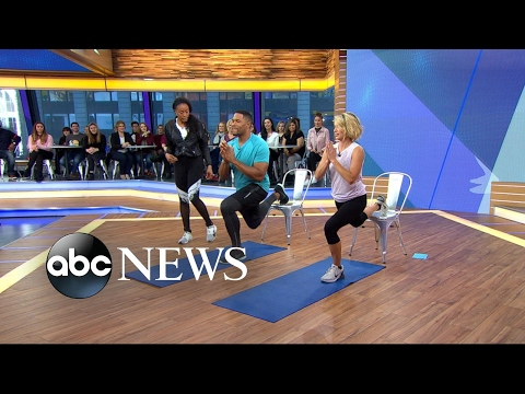 Workout moves 'GMA' anchor Michael Strahan loves to hate