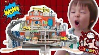 Playtive Junior XXL-Holzbahnhof-Set : รีวิวสถานีรถไฟของเล่น Playtive Junior XXL Train Station Play