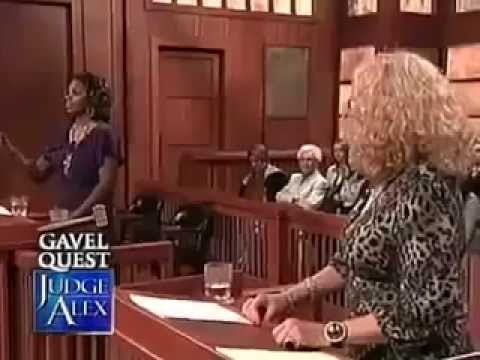 Judge Alex Episode Black Woman vs White Woman