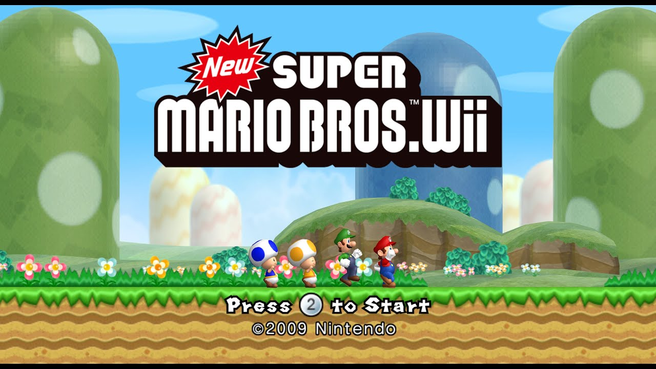 New Super Mario Bros Wii World 4 5 All Star Coins Nsmb Wii