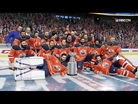 NHL 18 - Edmonton Oilers Stanley Cup Celebration
