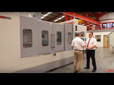 XYZ 3010 VMC for larger milling machine work and rigid milling machining