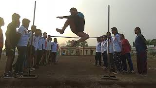 RPF SI constable high jump 4 Feet practice is the best way of the jump by Sunderlal 6264212131