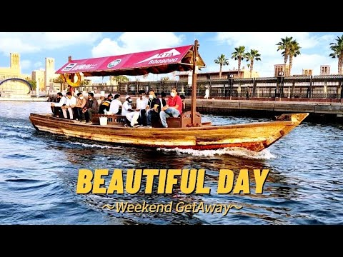 Experience Boating Going to Gold Souk (ABRAJ),the city's most traditional mode of transport   DUBAI