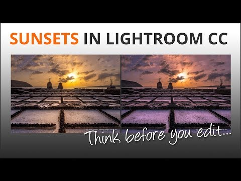 Sunsets in Lightroom with Mike Browne - Think Before You Retouch