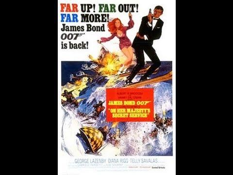 007 - On Her Majesty's Secret Service (1969) Movie Review