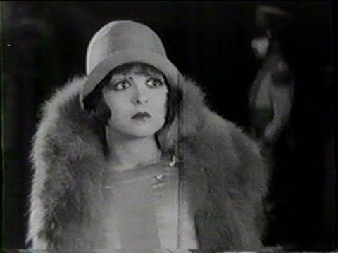 GET YOUR MAN.  Clara Bow 1927 Silent Romantic / Comedy Film