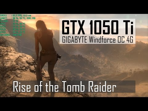Rise of the Tomb Raider | High 1080p | GTX 1050 Ti | i5-4460